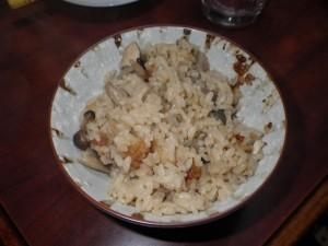 うちの「ごぼう炊き込みご飯」